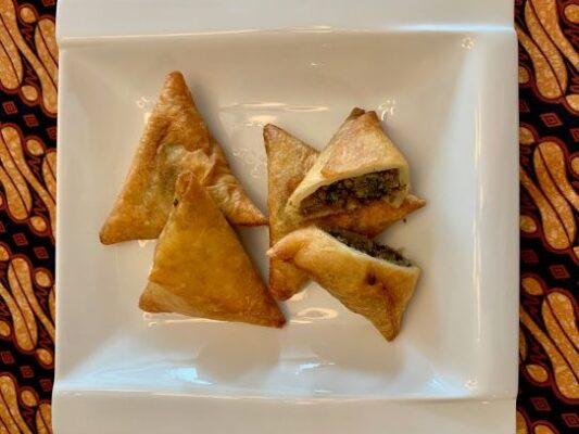 Beef samosas